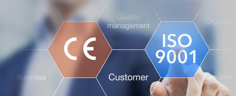 Equipe Certificazioni CE - ISO 9001 e 13485